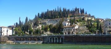 Sonniger Tag im Frühjahr Verona stockbild