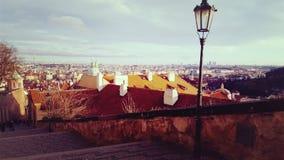 Sonniger Tag in magischem Prag Lizenzfreie Stockbilder