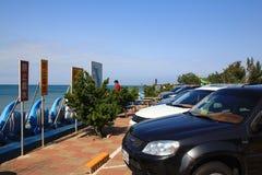 Sonniger Tag nahe dem Meer Lizenzfreie Stockbilder