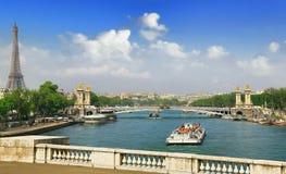Sonniger Tag in Paris Stockfoto