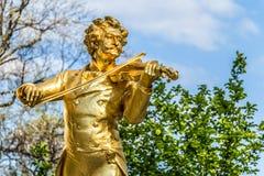 Sonniger Tag Wiens im Frühjahr, Österreich Stockfotografie