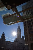 Sonniger Winter-Tag in Philadelphia Stockbilder