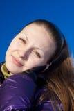 Sonniges Lächeln Stockfoto