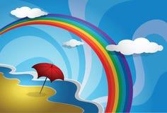 Sonniges Wetter Stockbild