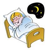 sonno illustrazione vettoriale