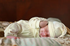Sonno del bambino Immagini Stock