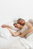 sonno delle coppie Immagine Stock Libera da Diritti