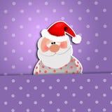 Sonno di Santa Claus Fotografie Stock
