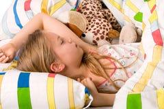 Sonno dolce della bambina fotografie stock libere da diritti