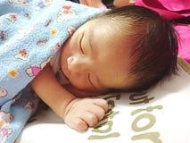 Sonno neonato Fotografie Stock