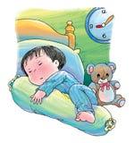Sonno pacifico royalty illustrazione gratis