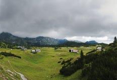 Sonnschienalm. Pasture near Wildalpen, Hochschwab mountain range, Styria royalty free stock photos