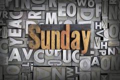 Sonntag lizenzfreie stockbilder