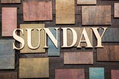 Sonntag lizenzfreies stockfoto