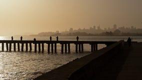 Sonntags-Morgen in San Francisco Stockfotografie