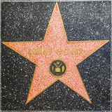 Sonny and Cher`s star on Hollywood Walk of Fame Stock Image
