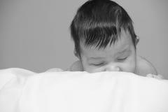 Sono adorável do bebê fotos de stock royalty free
