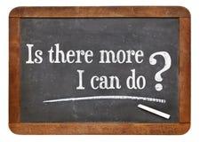 Sono ci più che posso fare? Immagine Stock Libera da Diritti