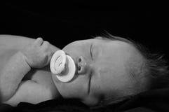 Sono do bebê foto de stock