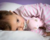 Sono do bebê Fotografia de Stock