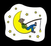 Sono e sonho ilustração do vetor