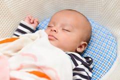Sono euro-asiático do bebê Imagens de Stock