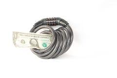 Sono i vostri soldi sicuri e sicuri? Fotografia Stock Libera da Diritti