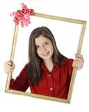Sono il vostro regalo! Fotografia Stock