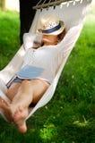 Sono no hammock Imagens de Stock
