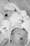 Sono pequeno adorável do bebê fotos de stock royalty free