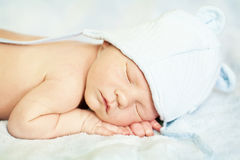 Sono recém-nascido Fotografia de Stock Royalty Free