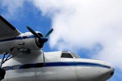 Sono sulla vacanza d'altezza sopra le nuvole fotografia stock libera da diritti