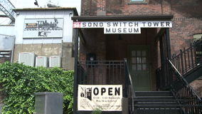 Sono Switch Tower Museum (1 of 2) stock footage