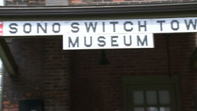 Sono Switch Tower Museum (2 of 2) stock footage