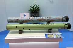 Sonobuoy e transportado por via aérea transportados por via aérea Fotos de Stock