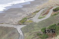 Sonoma Coast State Park -  northwestern Sonoma County, California Stock Photos