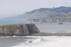 Sonoma Coast State Park -  northwestern Sonoma County, California Stock Photography