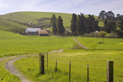 Sonoma County Ranch. Picturesque ranch in Sonoma County California Stock Photo