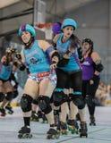 Sonoma Derby Girls royalty-vrije stock fotografie