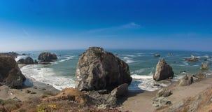 Sonoma-Küste, Kalifornien stock video