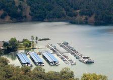 Sonoma Lake Marina royalty free stock photography