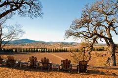 Sonoma. Landscape in Sonoma County, CA Stock Image