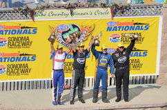 2013 Sonoma Nationals Winners Royalty Free Stock Image