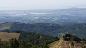 Sonoma okręgu administracyjnego winogrona widoki Zdjęcie Stock