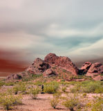 Sonora Desert Mountains Royalty Free Stock Image