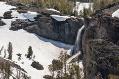 Sonora Pass waterfall Stock Image
