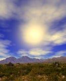 Sonora Pustynny słońce Zdjęcia Royalty Free