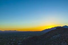 Sonora-Wüste in Arizona stockfotos