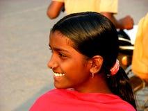 Sonrisa adolescente Fotografía de archivo libre de regalías