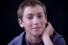 Sonrisa adolescente Imagen de archivo